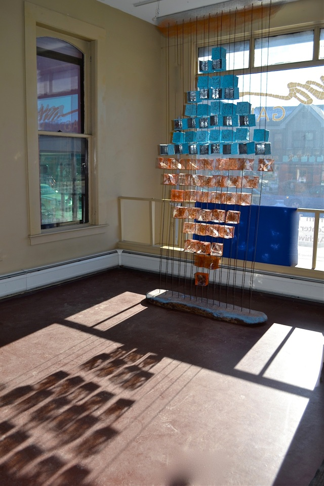 Encountering -The Space Between installation at Studio Place Arts