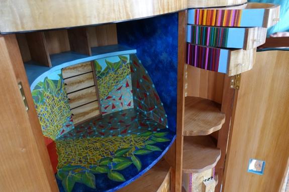 Outside In - open doors:drawers detail 2017