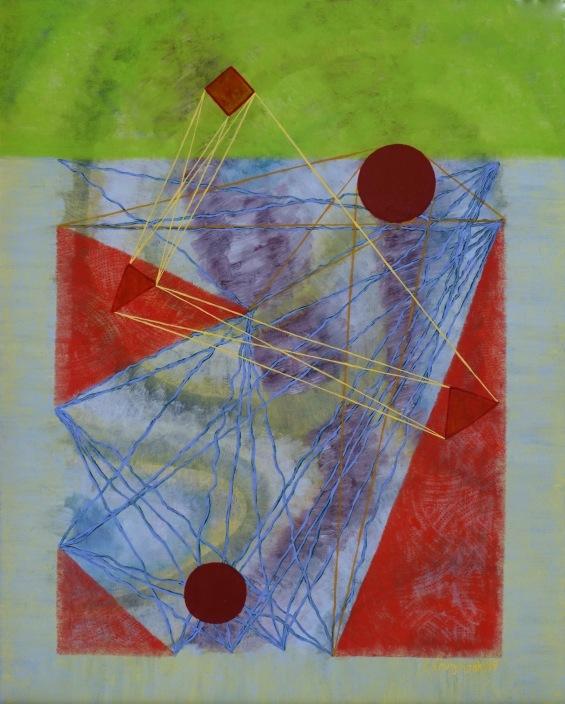 "Perceptive Angle Carolyn Enz Hack oil on board 20x16"""